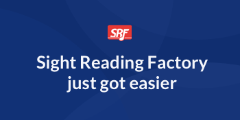 Try the new Sight Reading Factory beta!